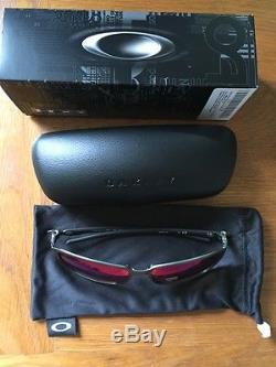 02353238d7 Brand New Oakley Tincan Carbon Red Iridium Polarized Men s Sunglasses  Oo6017-03