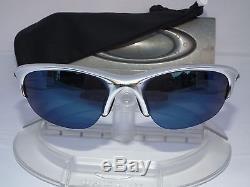 e069d76ca8 Custom Oakley Half Jacket 1.0 Sunglasses 12-655 Polished Aluminum   Ice  Iridium