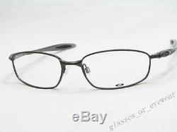 Eyeglass Frames-Oakley BLENDER 6B OX3162-0155 Pewter 55mm Glasses Occhiali Frame