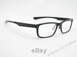 Eyeglass Frames-Oakley PLANK OX3090 22-193 Matte Black Aluminium Glasses Frame