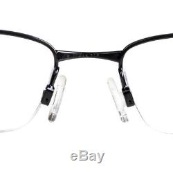 Eyeglass Frames-Oakley VALVE OX3093-0151 Polished Black51mm Titanium Glasses New