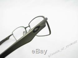Eyeglass Frames-Oakley WINGSPAN OX5040-0353 Pewter Titanium Glasses Occhiali New