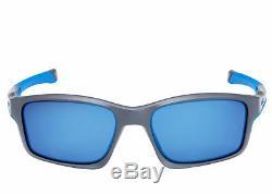 GENUINE Oakley Chainlink Sunglasses OO9247-05 Matte Grey Frame With Ice Iridium