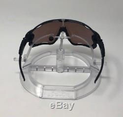 Mens Oakley Sunglasses Jawbreaker Black Ink Red Polarized OO9290-08 AUTHENTIC
