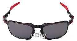NEW Authentic OAKLEY Sunglasses BADMAN Scuderia Ferrari Polarized OO6020-07