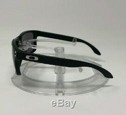 NEW Authentic Oakley HOLBROOK Sunglasses Matte Black/Warm Grey OO9102-01