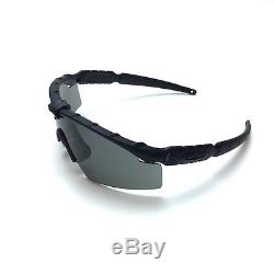 NEW Authentic Oakley SI M Frame 2.0 Sunglasses Matte Black withGray Lens
