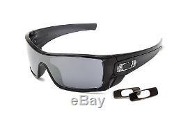 NEW Genuine Oakley BATWOLF OO9101 01 Mens Sunglasses Black