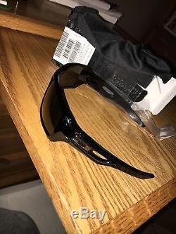 NEW Genuine Oakley Eyepatch 2 Sunglasses Polished Black/Grey Lens Mens 009136-13