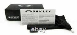 NEW OAKLEY CHAINLINK Polished Clear Violet Iridium Sport Sunglasses OO 9247-06