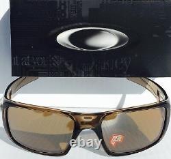 NEW OAKLEY CRANKSHAFT Brown Crystal Sepia POLARIZED Tungsten Sunglass 9239-07
