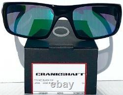 NEW OAKLEY CRANKSHAFT Grey Smoke Crystal frame w JADE Sunglass 9239-02