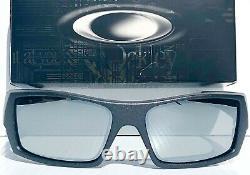 NEW OAKLEY GASCAN Lead Steel POLARIZED Galaxy Chrome Mirror Sunglass 9014