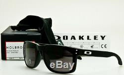 NEW OAKLEY HOLBROOK XL OO9417-0159 Matte Black Warm Grey 59mm USA MADE