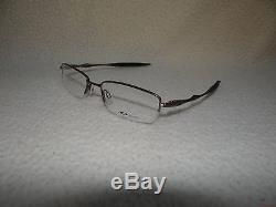 NEW OAKLEY MENS OPTHALMIC SCULPT 6.0 GLASSES BRUSHED CHROME