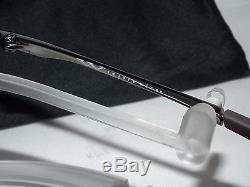 NEW OAKLEY POLARIZED SQUARE WIRE OO4075-06 Tungsten / Tungsten Iridium Polarized
