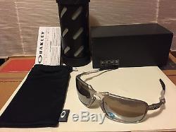 NEW OAKLEY X-Metal Badman Sunglasse, Ti with Chrome Iridium Polarized, OO6020-05