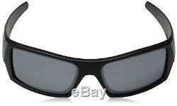 NEW Oakley 12-856 Men's GasCan Matte Black Frame / Iridium Polarized Lenses