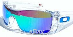 NEW Oakley BATWOLF CLEAR w POLARIZED Galaxy JADE 2 lens set Sunglass 9101