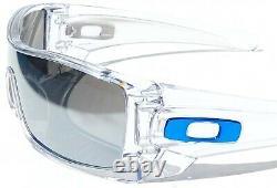 NEW Oakley BATWOLF CLEAR w POLARIZED Galaxy MIRROR 2 lens set Sunglass 9101