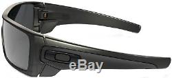 NEW Oakley Batwolf sunglasses Matte Black Iridium Polarized 9101-35 Bat GENUINE