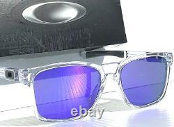 NEW Oakley Catalyst Polished CLEAR w Violet Iridium lens Sunglass oo9272-05