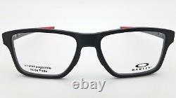 NEW Oakley Chamfer Squared RX Prescription frame Black Red OX8143-0552 52mm