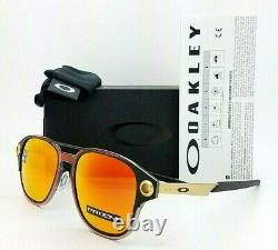 NEW Oakley Coldfuse sunglasses Matte Black Prizm Ruby Polarized oo6042-0752 Red