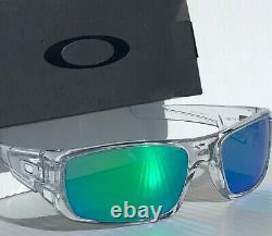 NEW Oakley Crankshaft CLEAR POLARIZED Galaxy JADE Iridium Sunglass 9239