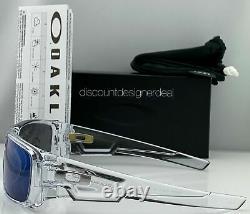 NEW Oakley Crankshaft sunglasses Clear Ice Iridium 9239-0460 AUTHENTIC 9239-04
