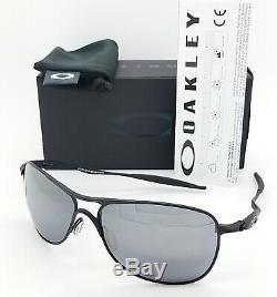 NEW Oakley Crosshair sunglasses 4060-03 Matte Black Black Iridium AUTHENTIC 4060