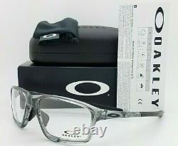 NEW Oakley Crosslink Zero RX Frame Polished Grey Shadow OX8080-0458 AUTHENTIC