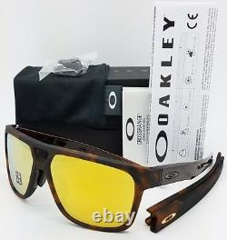 NEW Oakley Crossrange Patch sunglasses Matte Tort 24K 9391-0160 Asian AUTHENTIC