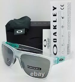 NEW Oakley Crossrange XL sunglasses Matte Clear Prizm Black 9360-1958 AUTHENTIC