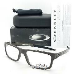 NEW Oakley Currency RX Prescription Frame Flint OX8026-0254 GENUINE 8026 54mm