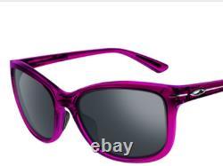 NEW Oakley DROP IN Breast Cancer Rose Raspberry Women's Sunglass oo9232-08