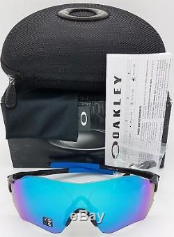 NEW Oakley EVZero Range sunglasses Black Sapphire Polarized 9327-07 blue EV Zero