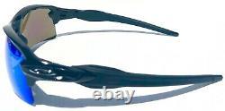 NEW Oakley FLAK 2.0 BLACK w POLARIZED Galaxy JADE 2 lens set Sunglass 9188