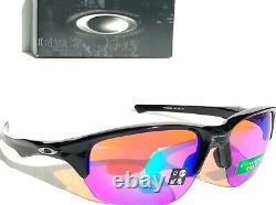 NEW! Oakley FLAK BETA Black polished w PRIZM GOLF Lens Sunglass 9372-05