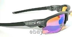 NEW Oakley FLAK DRAFT Steel Lead frame w PRIZM Golf w CASE Sunglass 9373-04