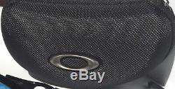 NEW Oakley FLAK JACKET 2.0 WHITE Polished w PRIZM Sapphire Sunglass 9188-94