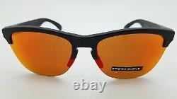 NEW Oakley Frogskins Lite sunglasses Black Prizm Ruby 9374-04 GENUINE 9374-0463