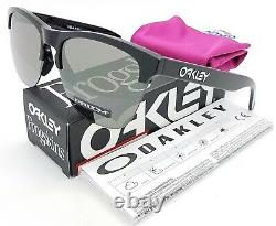 NEW Oakley Frogskins Lite sunglasses Prizm Black Iridium 9374-10 AUTHENTIC 9374