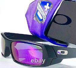 NEW Oakley GASCAN Infinite Hero Black POLARIZED Galaxy Violet Sunglass 9014