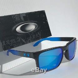 NEW Oakley HOLBROOK Black Sapphire Fade w POLARIZED PRIZM Sunglass 9102-D255