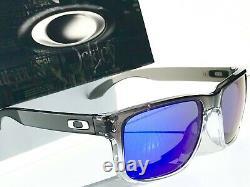NEW Oakley HOLBROOK Grey Fade Clear Ink POLARIZED Galaxy Blue Sunglass 9102