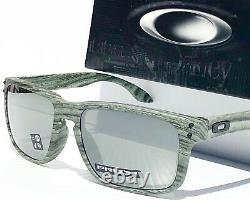 NEW Oakley HOLBROOK IVY Woodgrain PRIZM Black Sunglass oo9244-41