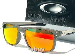 NEW Oakley HOLBROOK MIX Woodgrain POLARIZED Galaxy RUBY Sunglass 9384-04