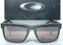 NEW Oakley HOLBROOK Steel Lead w POLARIZED Daily Gray Sunglass 9102 B5