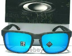 NEW Oakley HOLBROOK Tortoise BLACK POLARIZED PRIZM Sapphire Sunglass 9102-G7